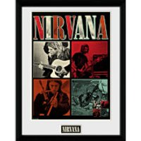 Nirvana Squares - 16 x 12 Inches Framed Photograph - Nirvana Gifts