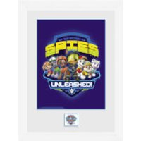 Paw Patrol Spies - 16 x 12 Inches Framed Photograph - Paw Patrol Gifts