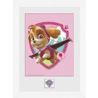 Paw Patrol Syke - 16 x 12 Inches Framed Photograph - Paw Patrol Gifts