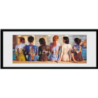 Pink Floyd Back Catalogue - 30 x 12 Inches Framed Photograph - Pink Floyd Gifts