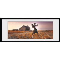 Pink Floyd Dancers - 30 x 12 Inches Framed Photograph - Pink Floyd Gifts