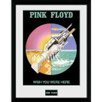Pink Floyd Wish You Were Here 2 - 16 x 12 Inches Framed Photograph - Pink Floyd Gifts