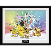 Pokémon Eevee - 16 x 12 Inches Framed Photograph - Eevee Gifts