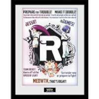 Pokémon Team Rocket - 16 x 12 Inches Framed Photograph