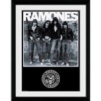 The Ramones Album - 16 x 12 Inches Framed Photograph - Ramones Gifts