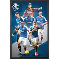 Rangers Players 15/16 - 61 x 91.5cm Framed Maxi Poster - Rangers Gifts