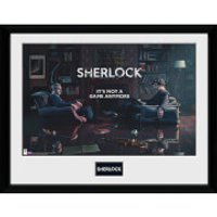 Sherlock Rising Tide - 16 x 12 Inches Framed Photograph - Sherlock Gifts