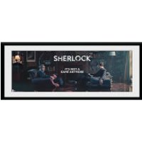 Sherlock Rising Tide - 30 x 12 Inches Framed Photograph - Sherlock Gifts