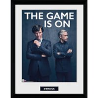 Sherlock the Game Is On - 16 x 12 Inches Framed Photograph - Sherlock Gifts