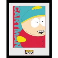 South Park Cartman - 16 x 12 Inches Framed Photograph - South Park Gifts
