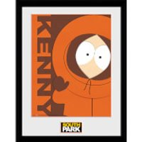 South Park Kenny - 16 x 12 Inches Framed Photograph - South Park Gifts