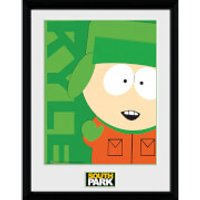 South Park Kyle - 16 x 12 Inches Framed Photograph - South Park Gifts