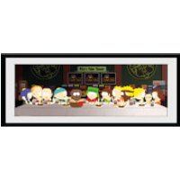 South Park Last Supper - 30 x 12 Inches Framed Photograph - South Park Gifts