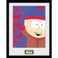 South Park Stan - 16 x 12 Inches Framed Photograph - South Park Gifts
