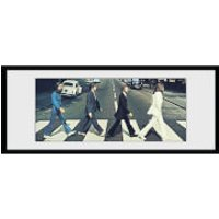 The Beatles Abbey Road Tracks - 30 x 12 Inches Framed Photograph - Beatles Gifts