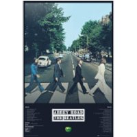 The Beatles Abbey Road Tracks - 61 x 91.5cm Maxi Poster - Beatles Gifts