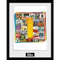 The Beatles No. 1 Albums - 16 x 12 Inches Framed Photograph - Beatles Gifts