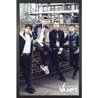 The Vamps Wall - 61 x 91.5cm Framed Maxi Poster - The Vamps Gifts