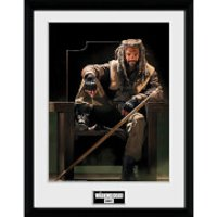 The Walking Dead Ezekial - 16 x 12 Inches Framed Photograph - The Walking Dead Gifts