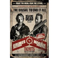 The Walking Dead Fight - 61 x 91.5cm Maxi Poster - The Walking Dead Gifts