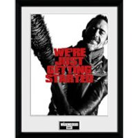 The Walking Dead Getting Started - 16 x 12 Inches Framed Photograph - The Walking Dead Gifts