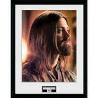 The Walking Dead Jesus - 16 x 12 Inches Framed Photograph - The Walking Dead Gifts