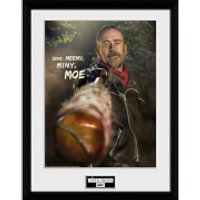 The Walking Dead Negan - 16 x 12 Inches Framed Photograph - The Walking Dead Gifts