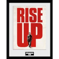 The Walking Dead Rise Up - 16 x 12 Inches Framed Photograph - The Walking Dead Gifts