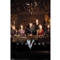 Vikings Table - 61 x 91.5cm Maxi Poster - Vikings Gifts