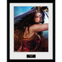 Wonder Woman Defend - 16 x 12 Inches Framed Photograph - Wonder Woman Gifts