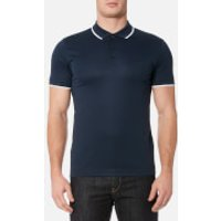 BOSS Green Mens Pl Tech Polo Shirt - Navy - L - Blue