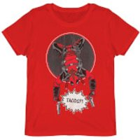 Deadpool Did Someone Say Tacos? Red T-Shirt - L - Red