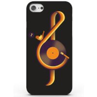 Retro Sound Phone Case for iPhone & Android - 4 Colours - Samsung Galaxy S6 Edge - Black