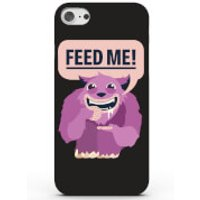 Feed Me Phone Case for iPhone & Android - 4 Colours - Samsung Galaxy S7 - Black