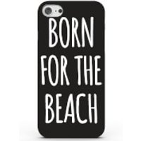 Born for the Beach Phone Case for iPhone & Android - 4 Colours - Samsung Galaxy S7 - Black