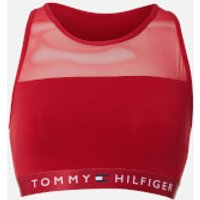 Tommy Hilfiger Womens Bralette - Scooter - L - Red