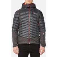 Montane Mens Quattro Fusion Jacket - Shadow Alpine Red - S - Grey