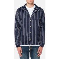 FILA Blackline Men's Austin Pinstripe Coach Jacket - Peacoat - XL - Blue