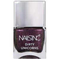 nails inc. Rainbow Hooves Pink Nail Varnish 14ml