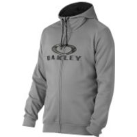 Oakley Mens Combat Full Zip Hoody - Grey - XL - Grey