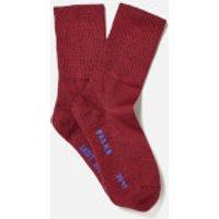 FALKE Men's Walkie Ergo Sport Spirit Socks - Scarlett - EU 42-43 - Red