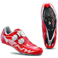 Northwave Evolution Plus Cycling Shoes - Red/White - EU 44 - Red/White