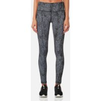 Varley Womens Hayworth 7/8 Tight Leggings - Dark Moon Snake - M - Grey