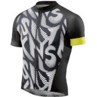 Skins Mens Classic Jersey - Black/Yellow - S - Black/Yellow