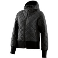 Skins Womens Activewear Puffer Jacket - Black - S - Black