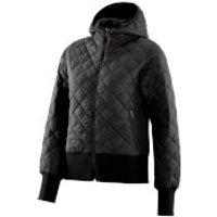 Skins Womens Activewear Puffer Jacket - Black - S - Black