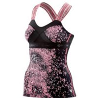 Skins Womens DNAmic Tank Top - Stardust - S - Black/Pink