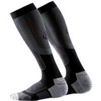 Skins Mens Essential Active Thermal Compression Socks - Black - M - Black