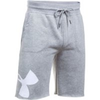 Under Armour Men's Rival Exploded Graphic Shorts - Grey - L - Grey