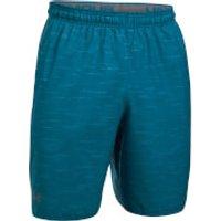 Under Armour Men's Qualifier Printed Shorts - Blue - L - Blue